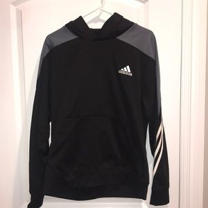 Adidas Pullover Hoodie with front pouch black